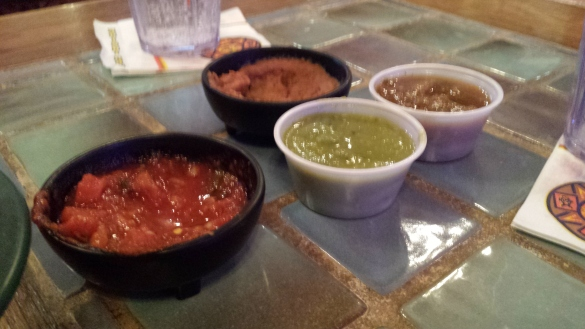 Never can go wrong with mexican food.