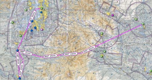 The new route. Up to Chehalis for fuel and then over white pass.