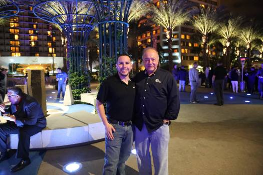 HAI President Matt Zucaro and I at the welcome reception for HELI-EXPO 2014.