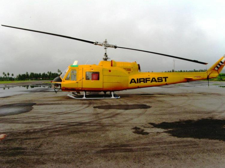 1989 Helicopter from PNG.